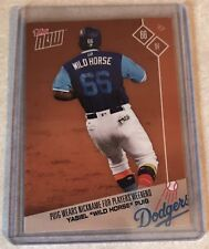 """2017 TOPPS NOW #PW-66 YASIEL PUIG WEARS """"WILD HORSE"""" FOR MLB PLAYERS WEEKEND"""