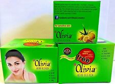 Olivia Herb Bleach Cream 60 g -Natural Cream Bleach Sensitive Skin US Seller