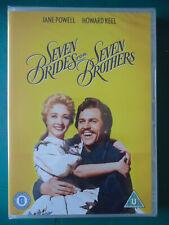 SEVEN BRIDES FOR SEVEN BROTHERS (WB UK DVD 2012) Howard Keel NEW! SEALED! (6)
