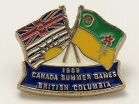 Jeux Du Canada Summer Games British Columbia 1989 Pin F903