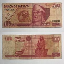 🇲🇽Mexico Legal Tender World Currency Mexican - 1996 $100 Pesos Paper Banknote