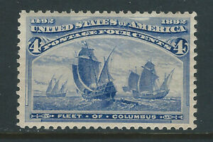 Bigjake: #233, 4 cent Fleet of Columbus  MNH
