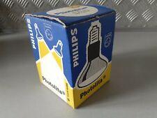 Vintage Phillips Photolita Lamp Bulb 240v 375w Typ E27 PF215 E/43