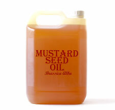 Mystic Moments | Mustard Seed Carrier Oil - 100% Pure - 5 Litres (OV5KMUSTSEED)
