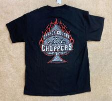 OCC Orange County Choppers Black T Shirt 2003 Motorcycle Size Large NWT