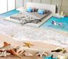 3D Sea Beach 4096 Floor WallPaper Murals Wall Print 5D AJ WALLPAPER AU Lemon