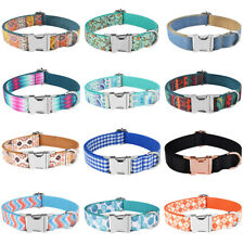 Quick Release Dog Collar for Small Medium Large Dogs Metal Buckle Quality Nylon