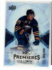 2017-18 ICE PREMIERES C.J.SMITH #144 001/999 FIRST !