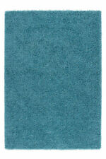 Tapis bleu en polypropylène pour la maison, 150 cm x 150 cm