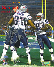 DEION BRANCH DAVID GIVENS Patriots Signed Autograph Reprint 8x10 Photo #1