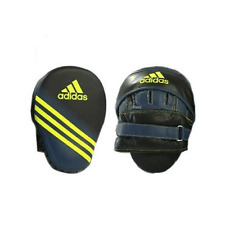 Adidas Speed Training Focus Mitts Punch Pads Black & Yellow