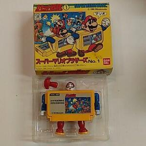 Cassette squadron Super Mario Bros. At that time Bandai made in Japan Nintendo