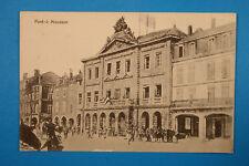 Meurthe et Moselle 54 Lorrain CP CPA Pont à Mousson 1914-18 militaires Maisons +
