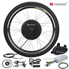 "48V 1000W Electric Bicycle Motor Conversion Kit Front Wheel Bike Cycling Hub 26"""