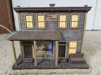 2007 Hawthorne Village County Post Office Lighted Wild West Village A0090