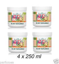 Kräuterhof Gel de massage griffe du diable eucalyptus menthol camphre 4 x 250ml