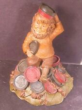 Tom Clark Gnomes Chubby Gnome With Checker Pieces Ed 86