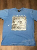 Mens Vintage Made In The USA Morey Boogie Bodywear Shirt single stitched Large