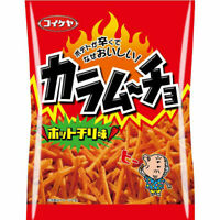 Potato Chips, Koikeya, Kara mucho, Stick Type, Hot Chili, Japan Snack, 105g