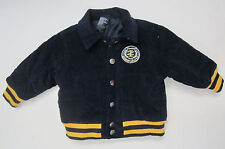 Navy with Yellow Corduroy Jacket by IZOD size 12 months - Winter Coat