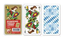 Schafkopf / Tarock Schafkopfkarten Leinen - Nürnberger Spielkarten Verlag 7020
