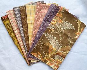 Moda Fabrics - traditional designs. Fat 1/8 pack -1 metre. Patchwork