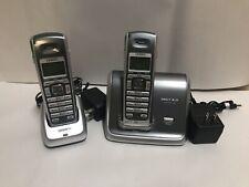 Uniden DECT2060-2 1.9 GHz Dual Handsets Single Line Cordless Phone