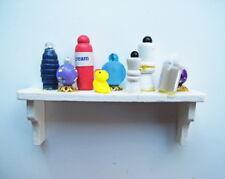 Dolls House Miniature 1:12th Scale Bathroom Shelf With Duck