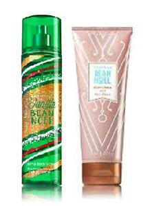 Bath & Body Works Vanilla Bean Noel 2 Piece Set - Body Cream & Mist
