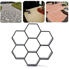 Paving Pavement Concrete Mould, Garden Walk Maker,  Stepping Stone Mold