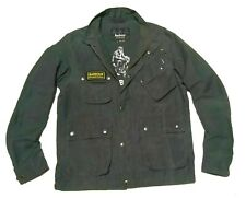 SUPERB £225 BARBOUR INTERNATIONAL JACKET - MEDIUM - VGC - STEVE MCQUEEN BIKER