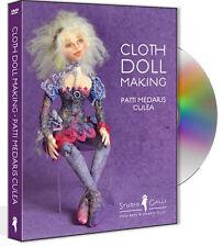 """""""Cloth Doll Making"""" 2-disc DVD set w/ Patti Medaris Culea - Free UK P&P *was £45"""