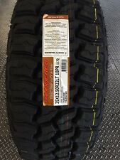 4 NEW 35X12.50-22 Thunderer Trac Grip 2 MT Tires 35 1250 22 12.50R22 Mud Tires