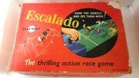 Vintage ESCALADO Horse Racing Game Chad Valley 1950s 60s 6 Metal Horses