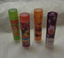 Avon 4 Lip Balms NATURALS-CARS-HOLIDAY-Strawberry-Grapefruit-Coconut-New sealed