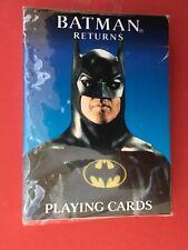 Batman Returns Playing Cards 1992 Edition NIB Sealed
