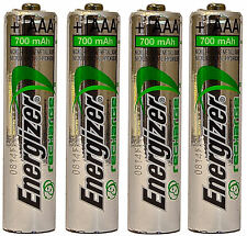 *NEW* 4x Energizer Rechargeable AAA 700 mAh NH12 NiMH 1.2V Battery  [USA SELLER]