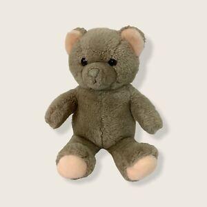 "Dakin 1983 Fun Farm Brown 14"" Teddy Bear Peach Ears Stuffed Plush Toy Animal"