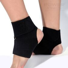 Tourmaline Far Infrared Ray Heat Health Pain Relief Ankle Brace Support 1 Pair