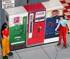 3 Old Style O Scale Vending Machines