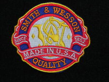 SMITH AND WESSON USA DIE CUT PATCH. FREE SHIPPING