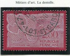 STAMP / TIMBRE FRANCE OBLITERE N° 2631 METIER D'ART DENTELLE