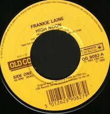"FRANKIE LAINE high noon  cool water 7"" CS EX/EX old gold noc"