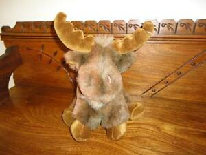 Mary Meyer Moose Stuffed Plush Animal 10 Inch
