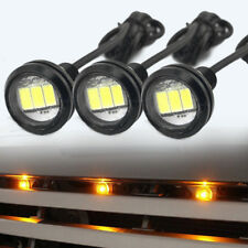 3pcs Ford SVT COB LEDs Raptor Style LED Amber Grille Lighting Light Kit Aluminum