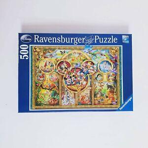 Disney Ravensburger 500 Pcs Jigsaw Puzzle 100% Complete Mickey Mouse 2010