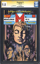 MIRACLEMAN #12 (Eclipse, Alan Moore) CGC 9.8 SS NM/M / Signed by John Totleben!