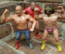 Vintage 1984,85,86 WWE Wrestling Figures Titan Sports Toys