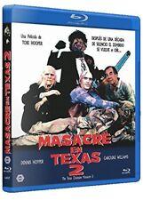 THE TEXAS CHAINSAW MASSACRE Part Vol 2 (1986) **Blu Ray B** Dennis Hopper,