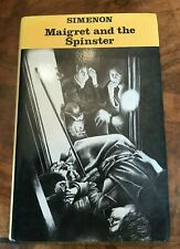 Simenon Maigret and the Spinster First Edition Hardback Good Dust Jacket